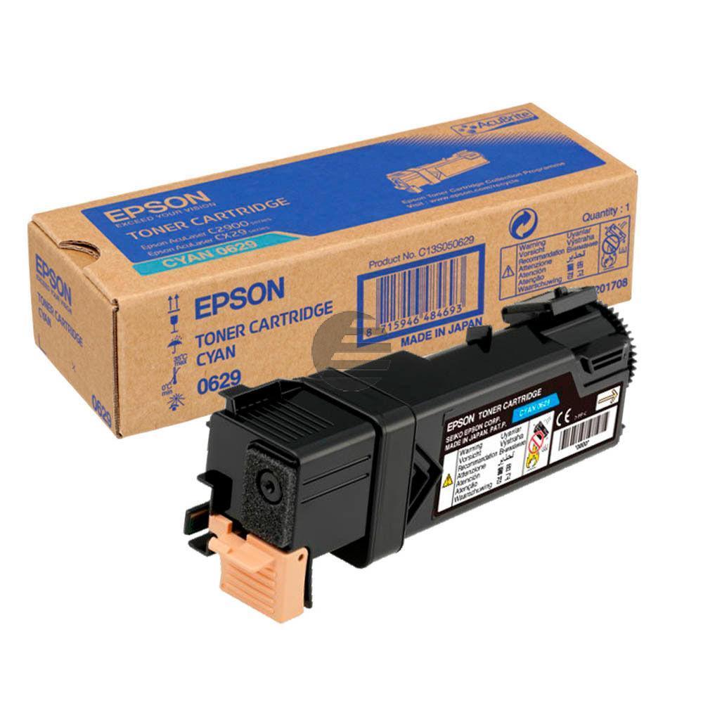 Epson Toner-Kit cyan (C13S050629, 0629)