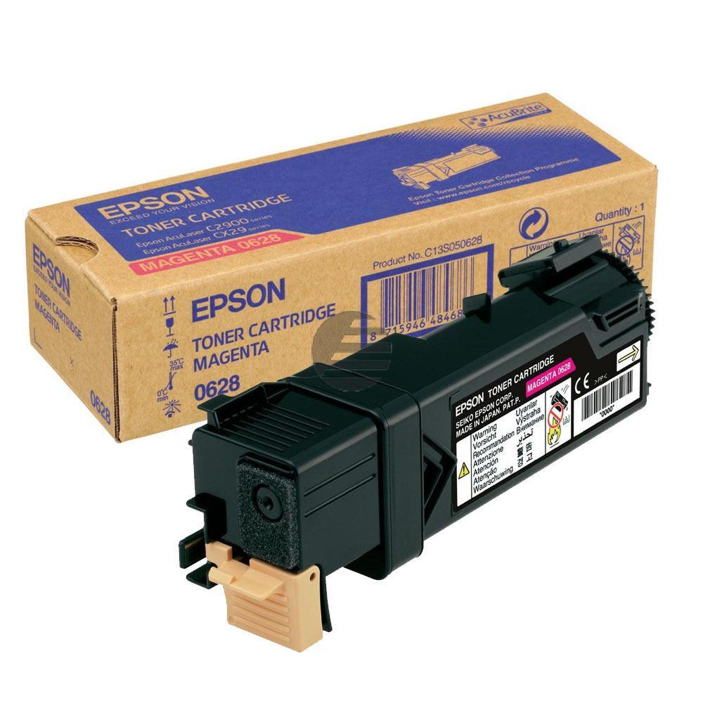 Epson Toner-Kit magenta (C13S050628, 0628)