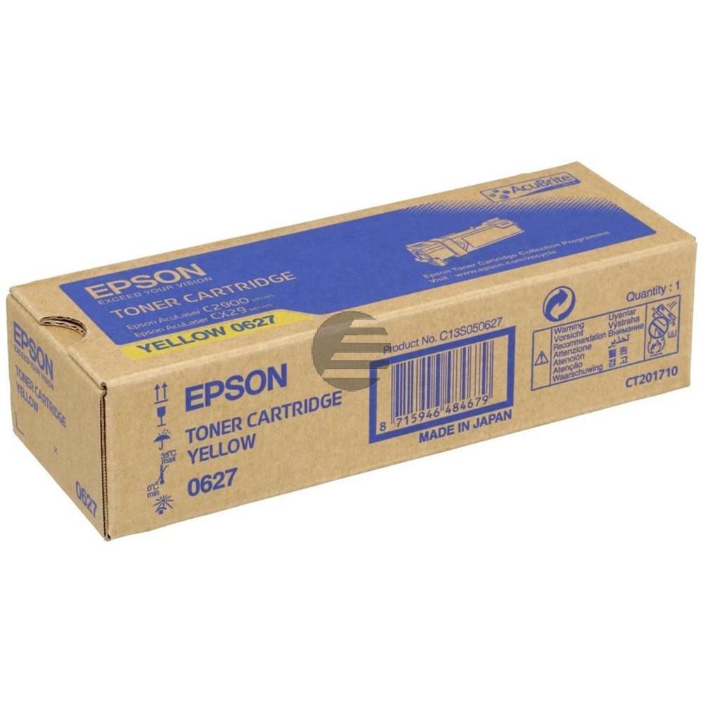 Epson Toner-Kit gelb (C13S050627, 0627)