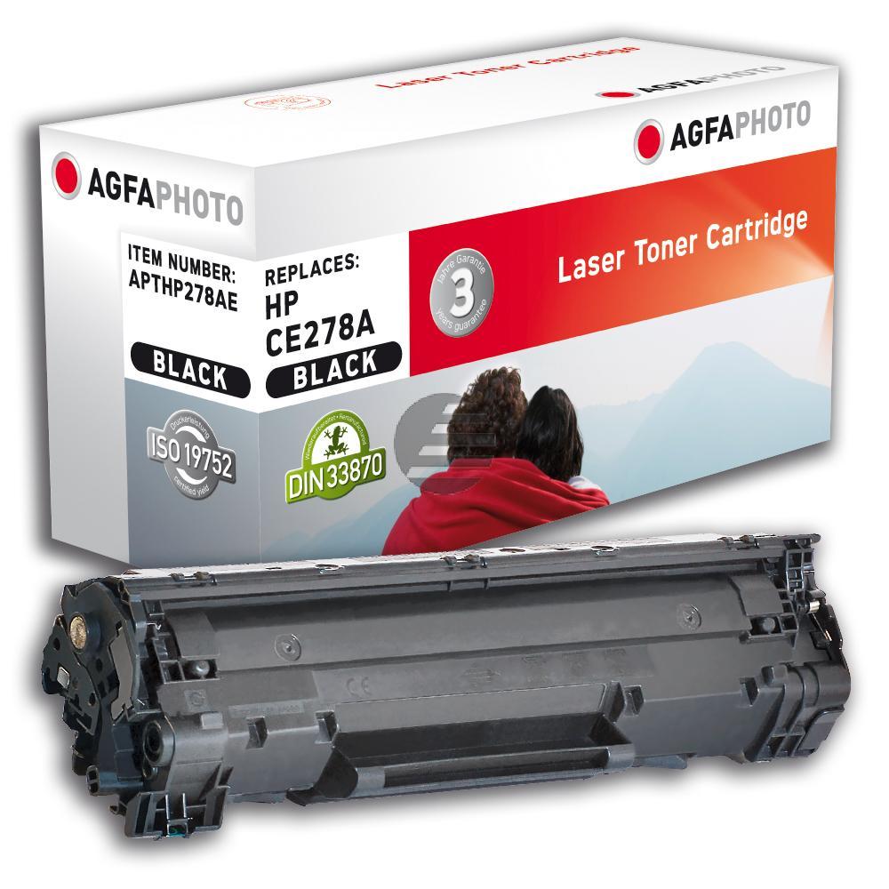 Agfaphoto Toner-Kartusche schwarz (APTHP278AE) ersetzt CE278A / 78A