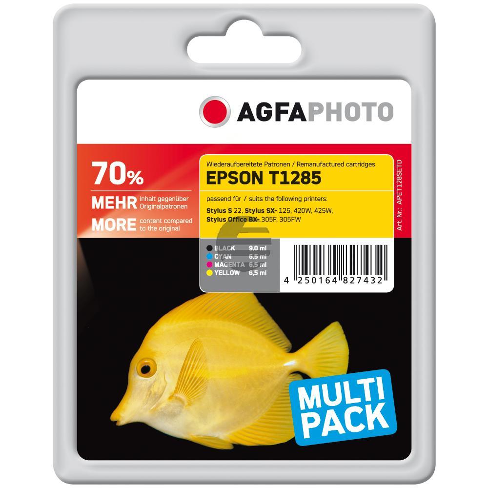 Agfaphoto Tintenpatrone schwarz (APET128SETD)