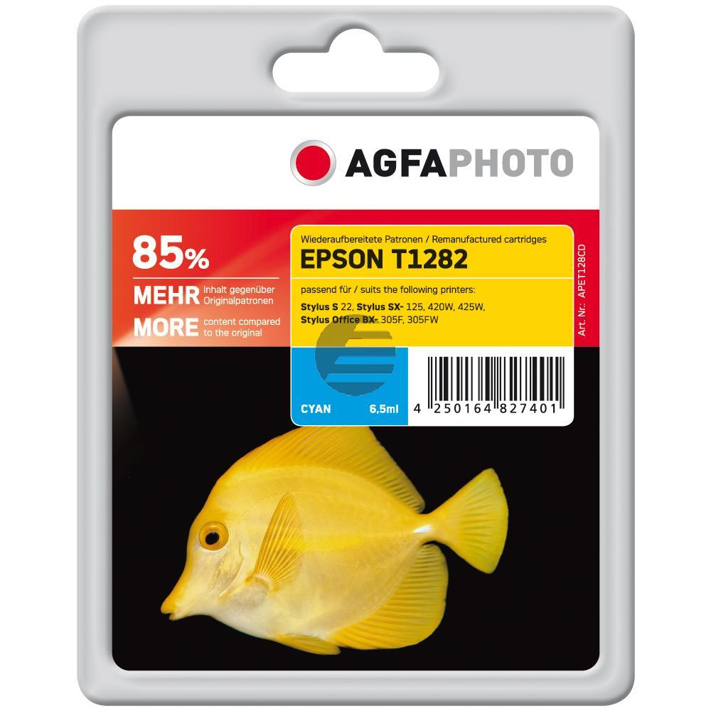 Agfaphoto Tintenpatrone cyan (APET128CD)