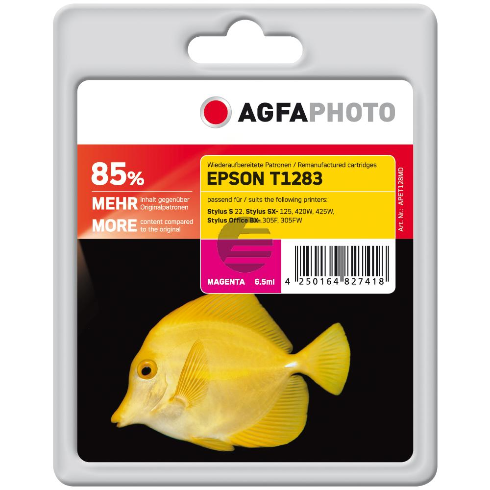 Agfaphoto Tintenpatrone magenta (APET128MD)