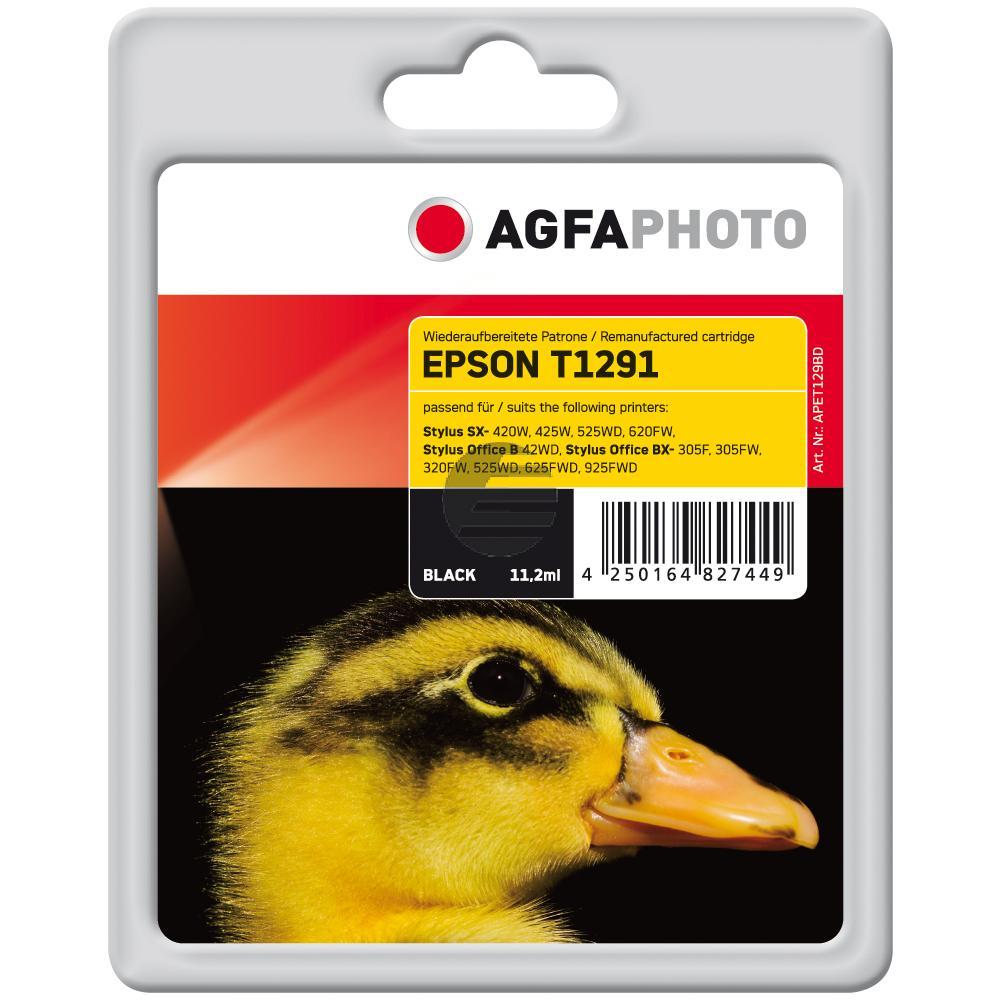 Agfaphoto Tintenpatrone schwarz HC (APET129BD)