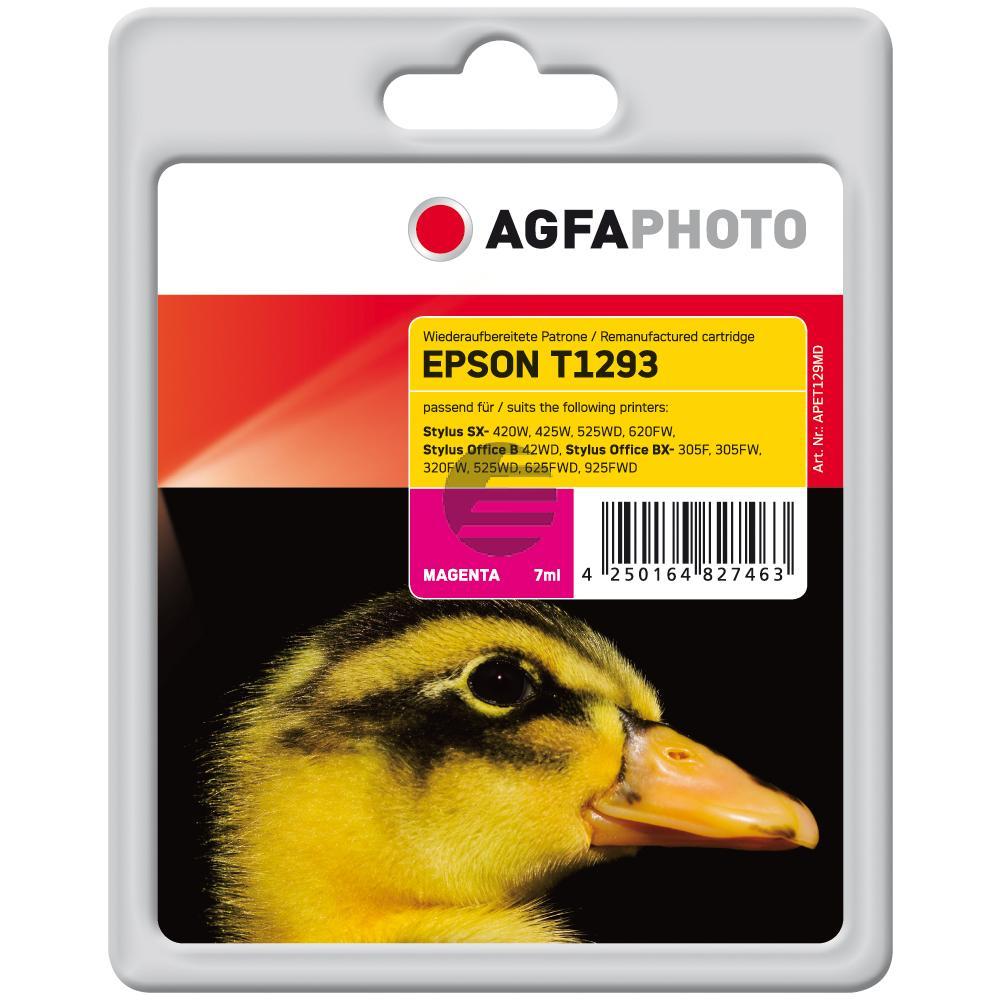 Agfaphoto Tintenpatrone magenta HC (APET129MD)