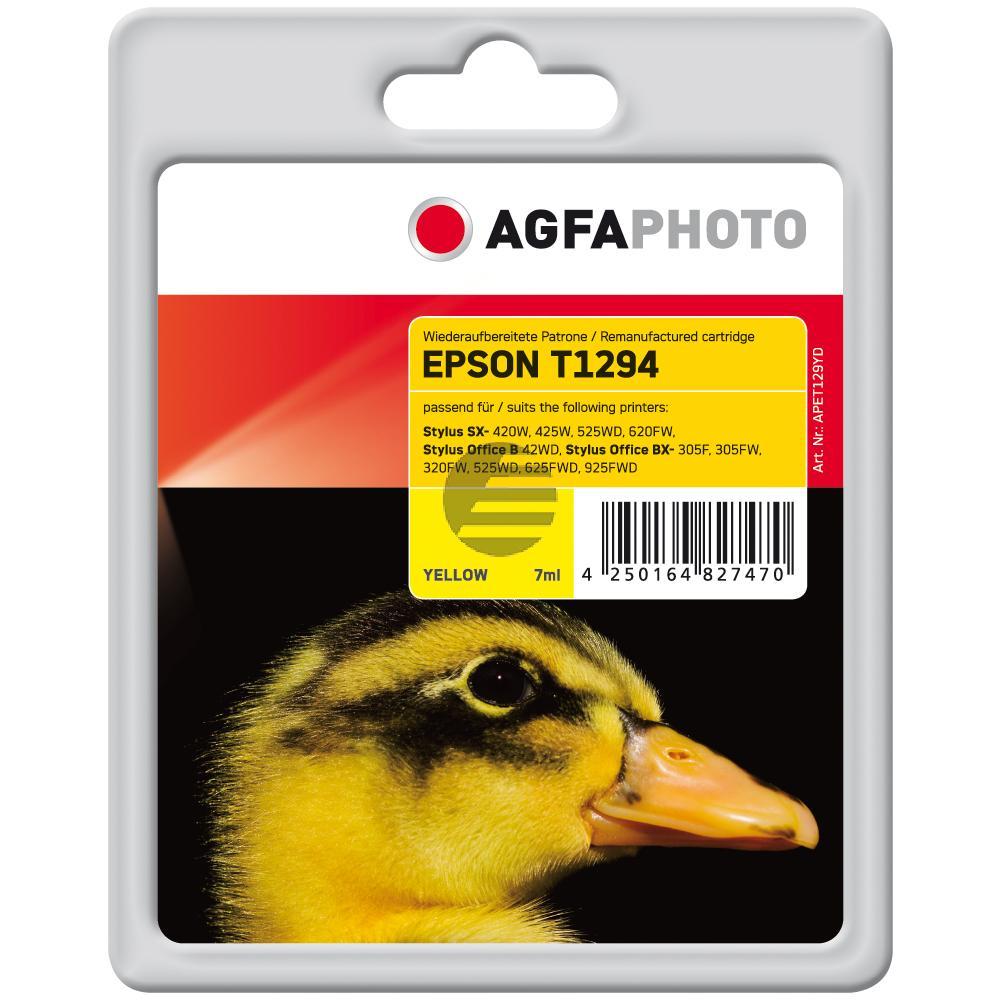 Agfaphoto Tintenpatrone gelb HC (APET129YD)