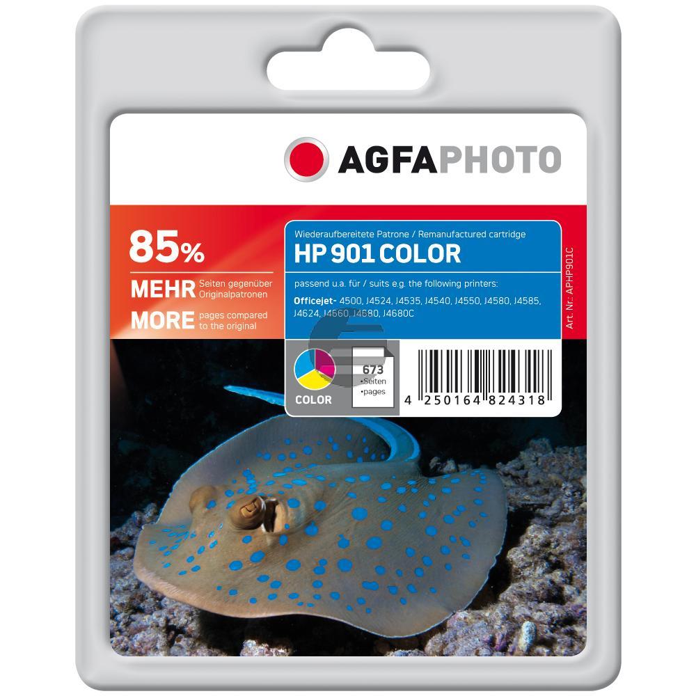 Agfaphoto Tintendruckkopf cyan/gelb/magenta (APHP901C)