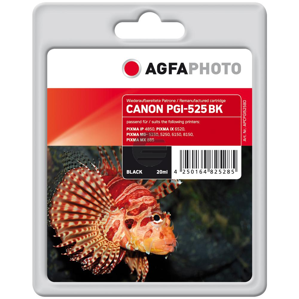 Agfaphoto Tintenpatrone schwarz photo (APCPGI525BD)