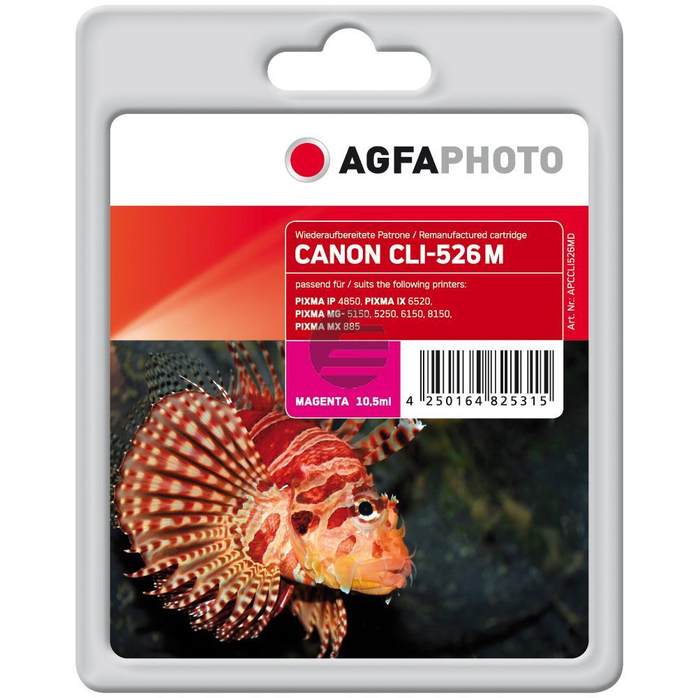 Agfaphoto Tintenpatrone magenta (APCCLI526MD)
