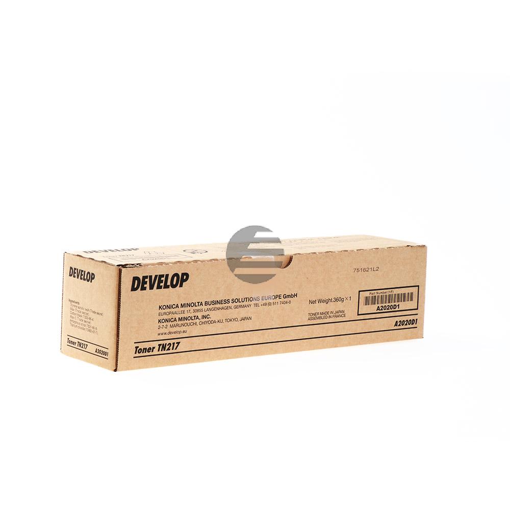 Develop Toner-Kit schwarz (A2020D1, TN-217)