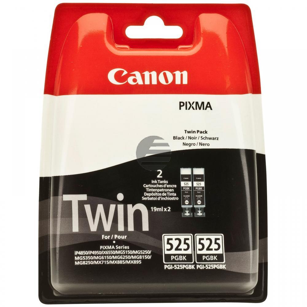 Canon Tinte 2 x schwarz (4529B010, 2 x PGI-525PGBK)