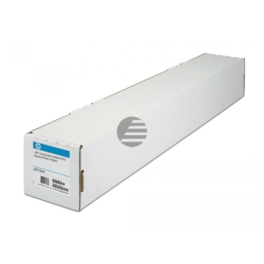 HP Fotopapier-Rolle 1067mm X 61m Glanz weiß (Q8754A)