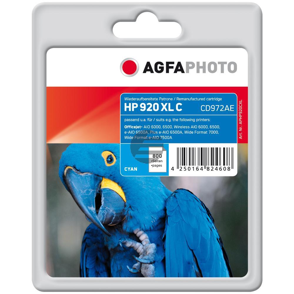Agfaphoto Tintenpatrone cyan HC (APHP920CXL)