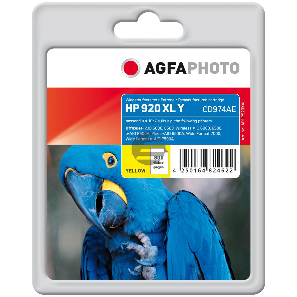 Agfaphoto Tintenpatrone gelb HC (APHP920YXL)