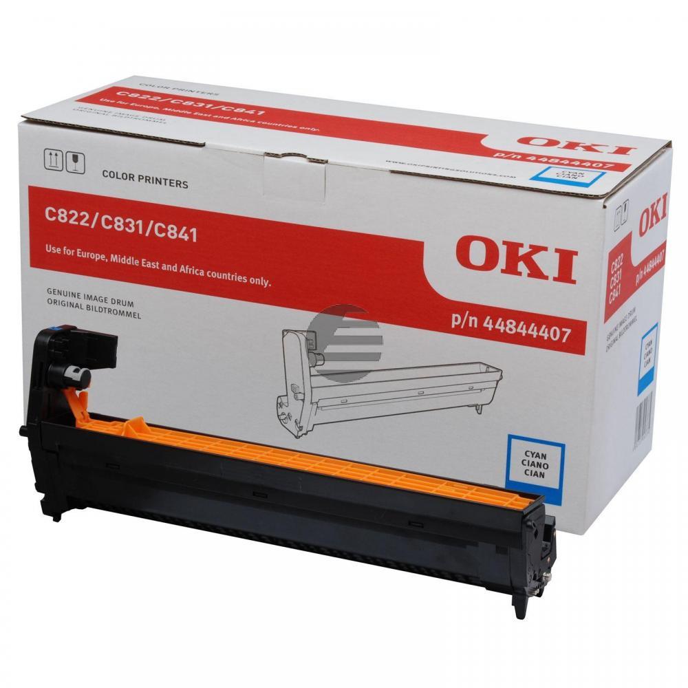 OKI Fotoleitertrommel cyan (44844407)
