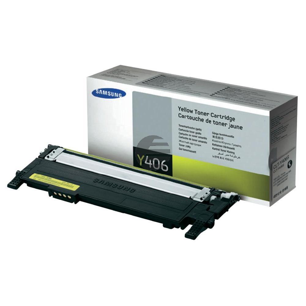 Samsung Toner-Kit gelb (CLT-Y406S, Y406)