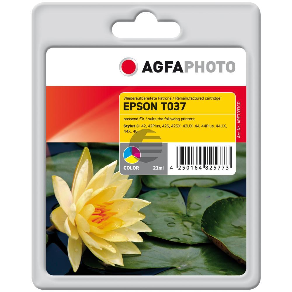 Agfaphoto Tintenpatrone cyan/gelb/magenta (APET037CD)