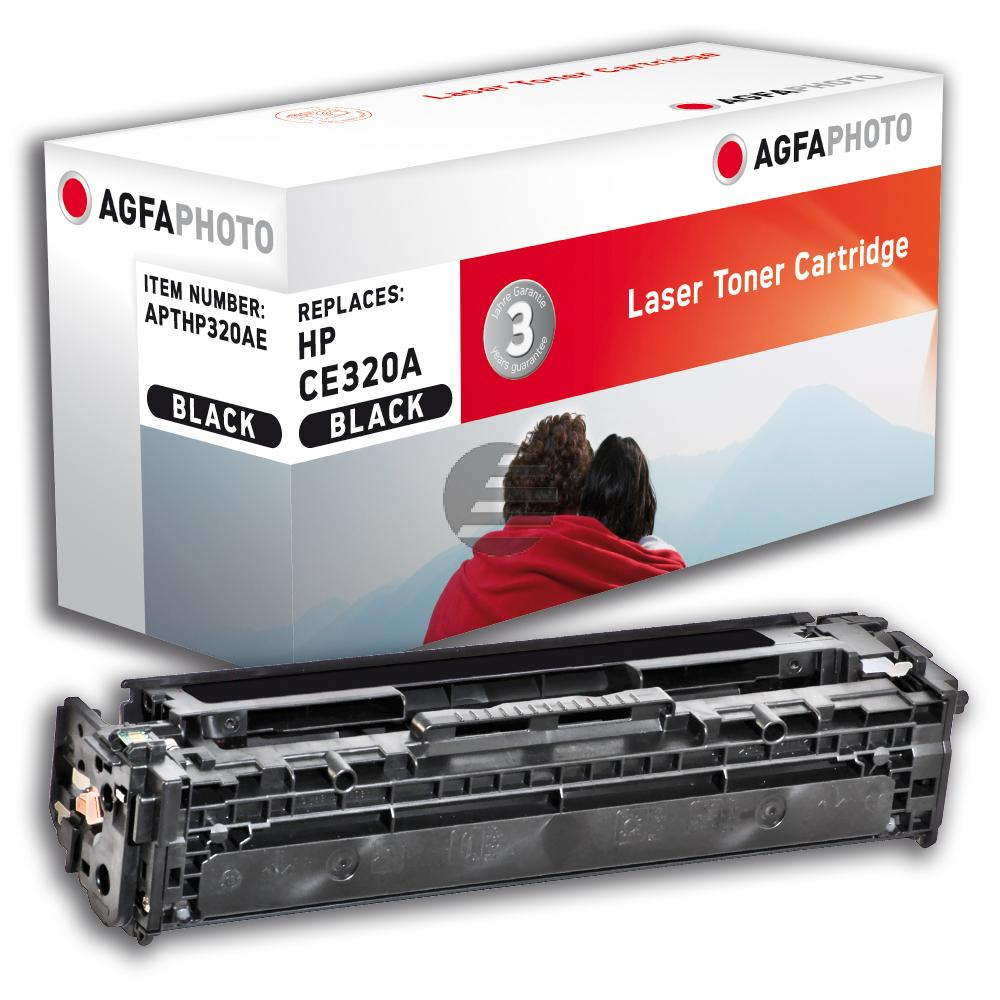 Agfaphoto Toner-Kartusche schwarz (APTHP320AE) ersetzt CE320A / 128A