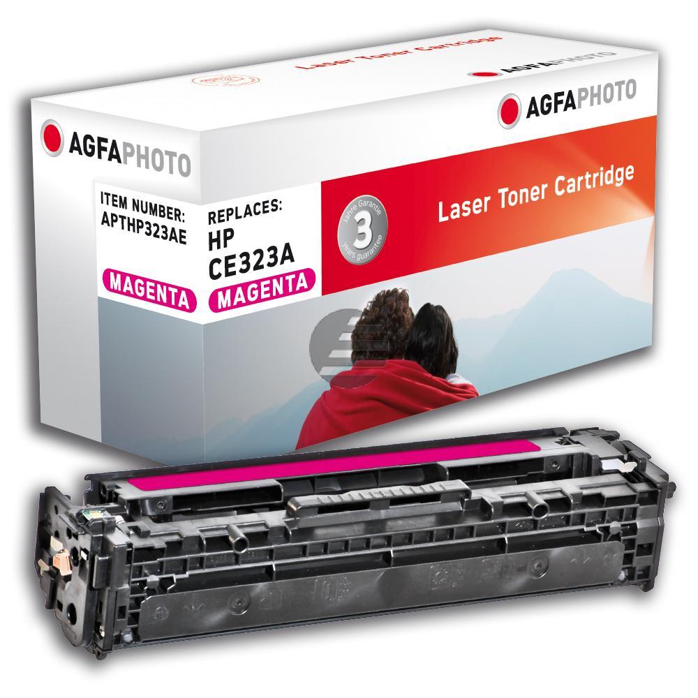 Agfaphoto Toner-Kartusche magenta (APTHP323AE) ersetzt CE323A / 128A