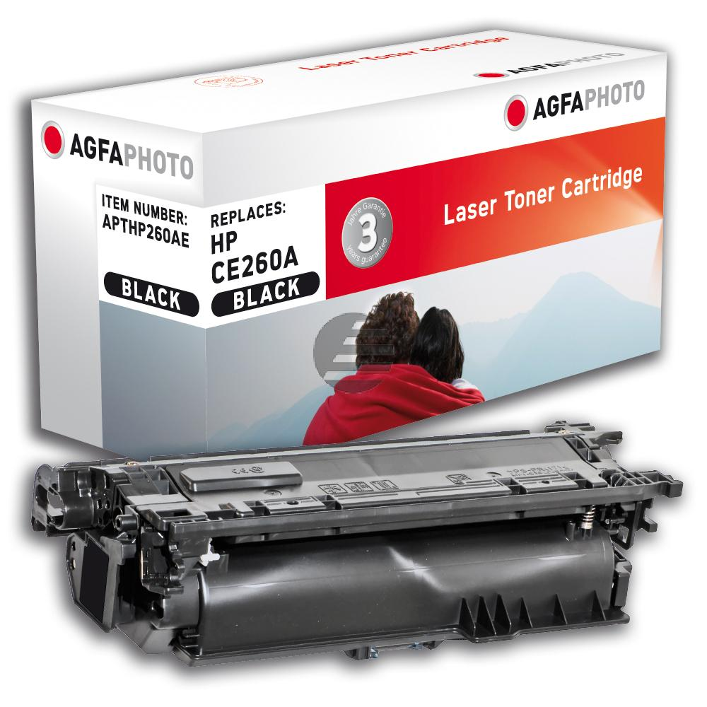Agfaphoto Toner-Kartusche schwarz (APTHP260AE) ersetzt CE260A / 647A