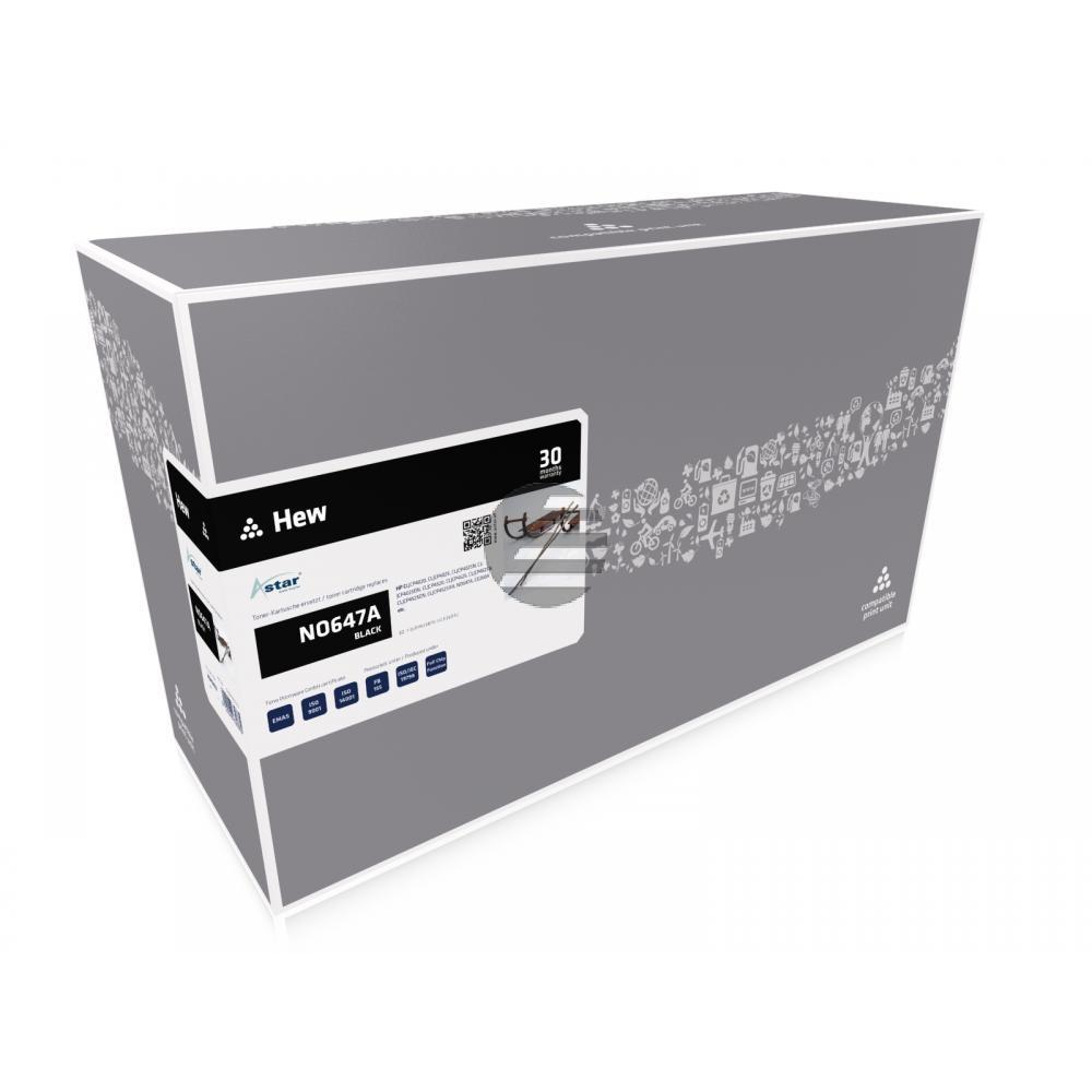 Astar Toner-Kartusche schwarz (AS10402) ersetzt CE260A / 647A