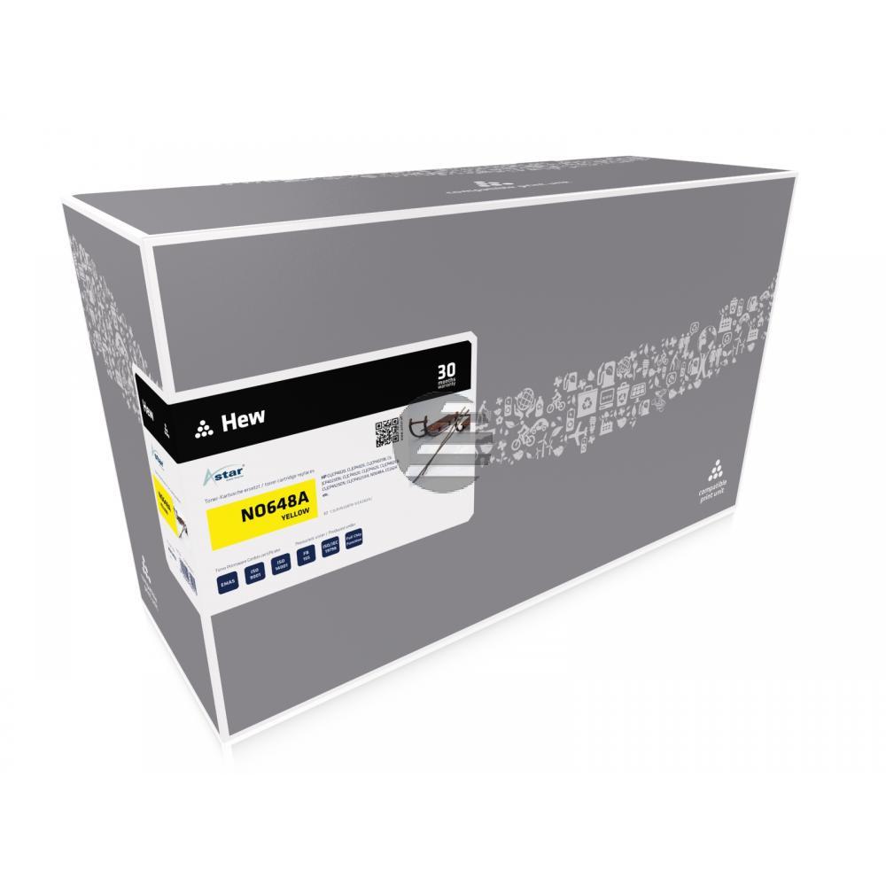Astar Toner-Kartusche gelb (AS13402) ersetzt CE262A / 648A