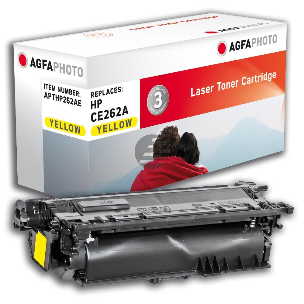Agfaphoto Toner-Kartusche gelb (APTHP262AE) ersetzt CE262A / 648A