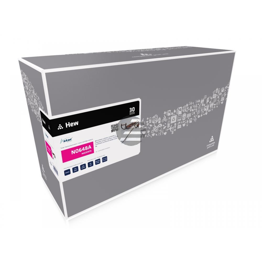 Astar Toner-Kartusche magenta (AS12402) ersetzt CE263A / 648A