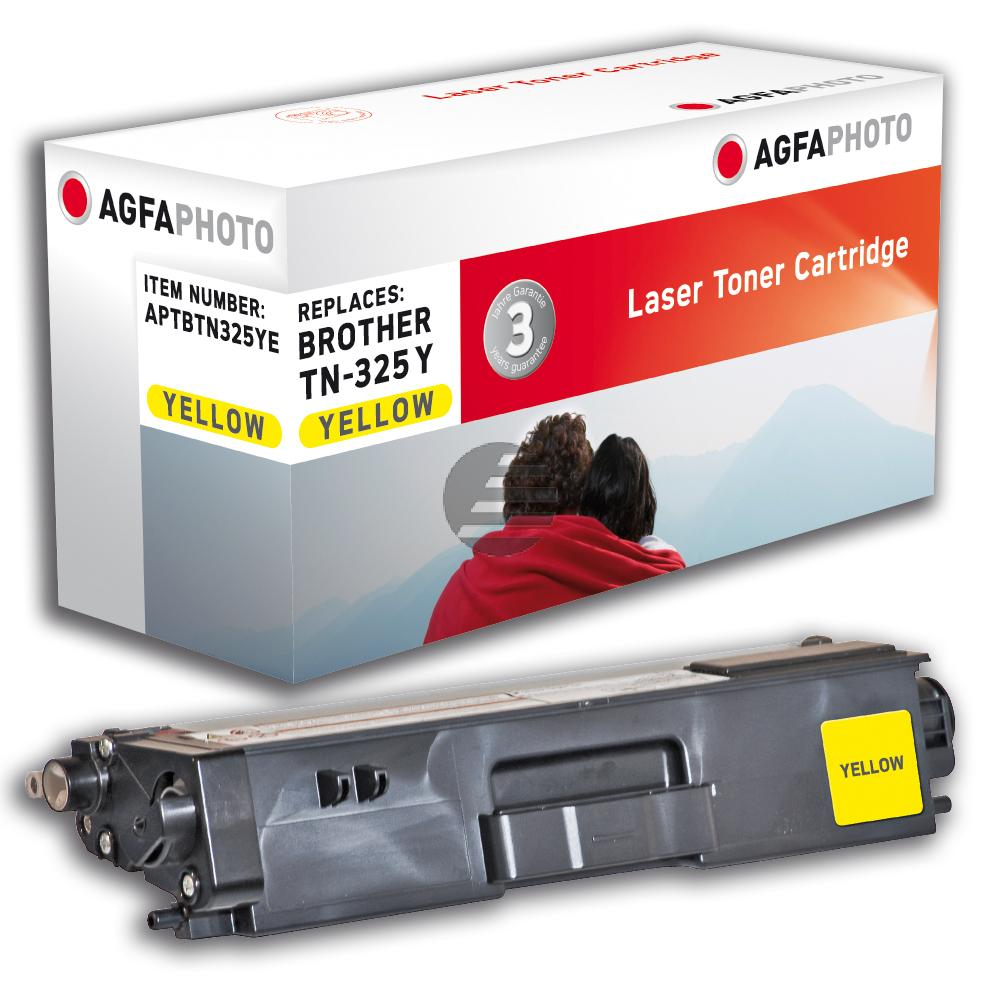 Agfaphoto Toner-Kit gelb HC (APTBTN325YE) ersetzt TN-325Y