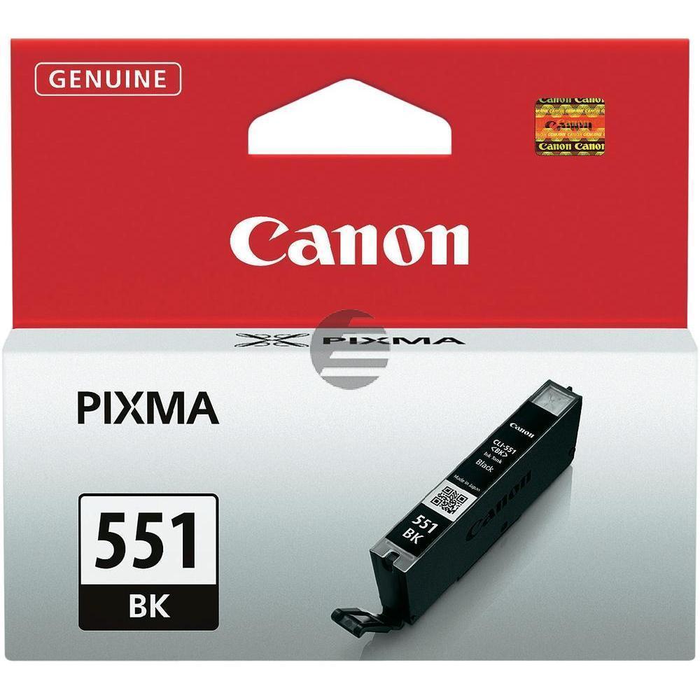 Canon Tinte schwarz (6508B001, CLI-551BK)