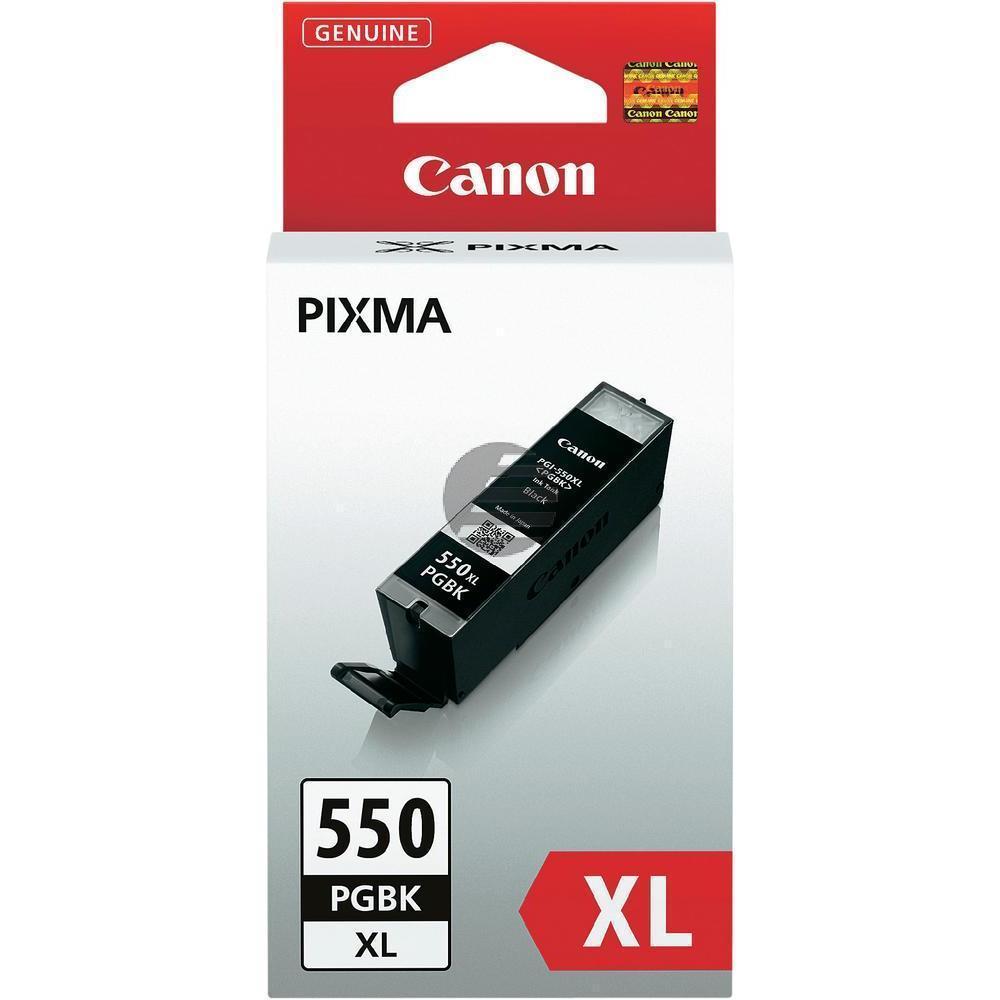 Canon Tintenpatrone pigment schwarz (6431B001, PGI-550PGBKXL)