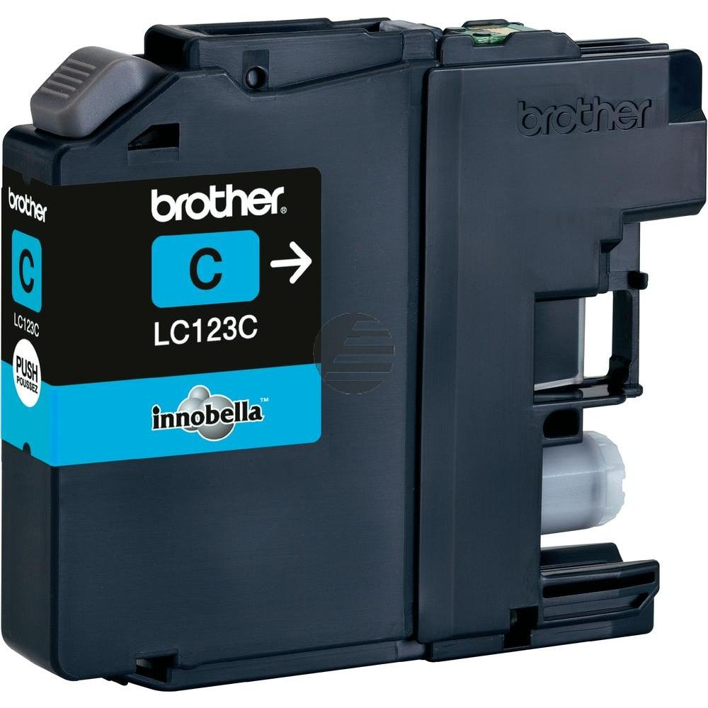 Brother Tintenpatrone cyan (LC-123C)