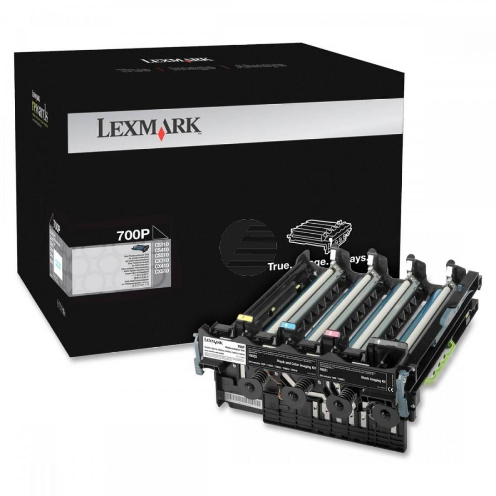 Lexmark Fotoleitertrommel schwarz (70C0P00, 700P)