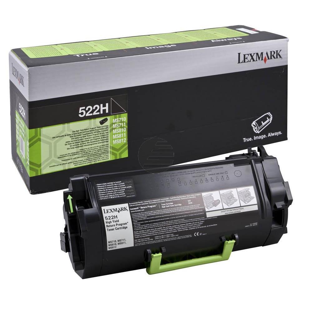 Lexmark Toner-Kit Return Return schwarz HC (52D2H00, 522H)