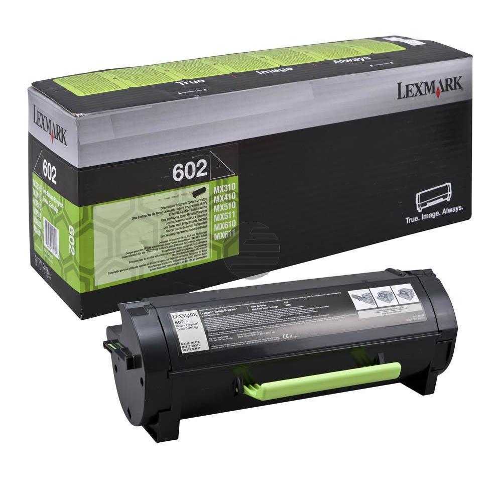 Lexmark Toner-Kit Return schwarz (60F2000, 602)