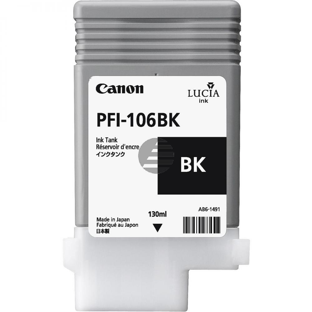 Canon Tintenpatrone schwarz (6621B001, PFI-106BK)