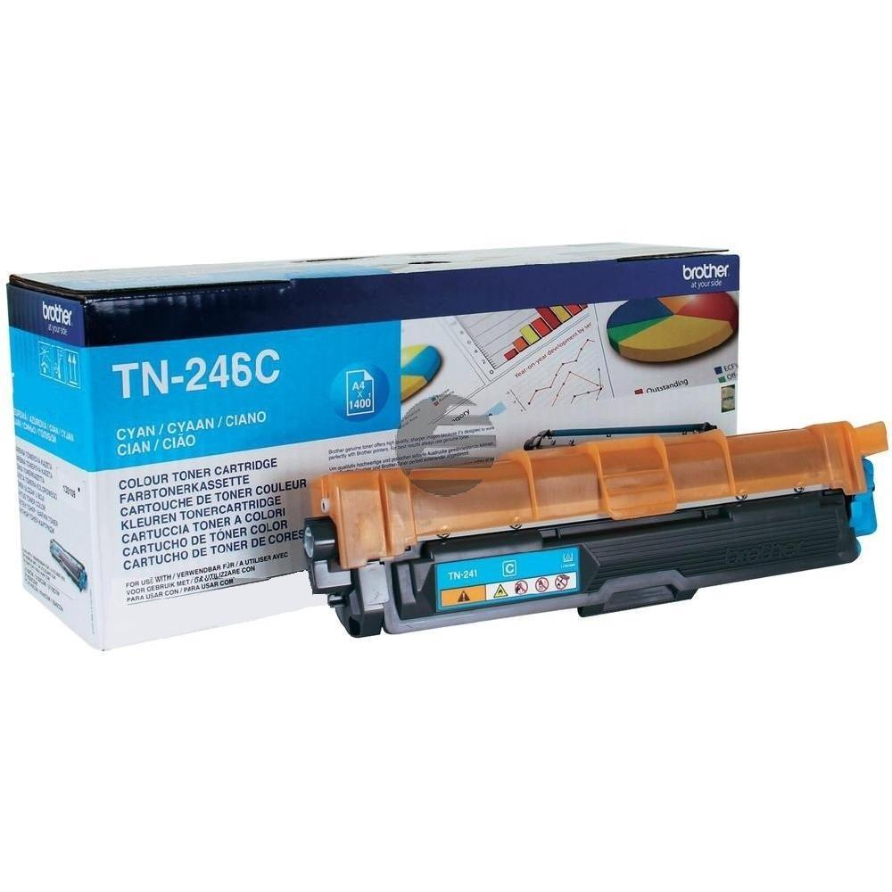 Brother Toner-Kit Cyan HC (TN-246C)