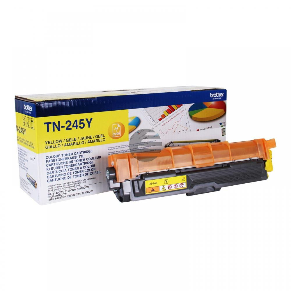 Brother Toner-Kit gelb HC (TN-245Y)