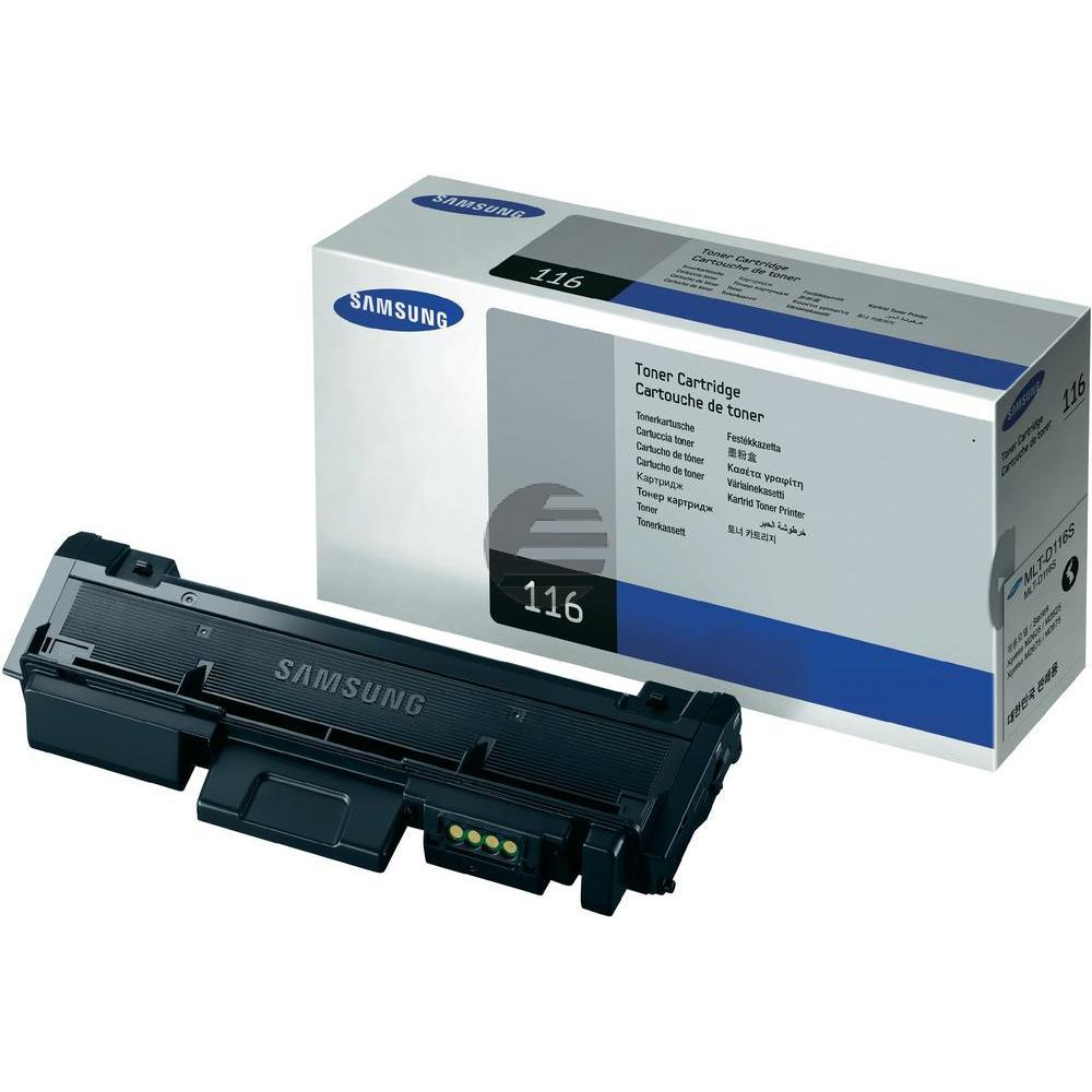Samsung Toner-Kit schwarz (MLT-D116S, 116)