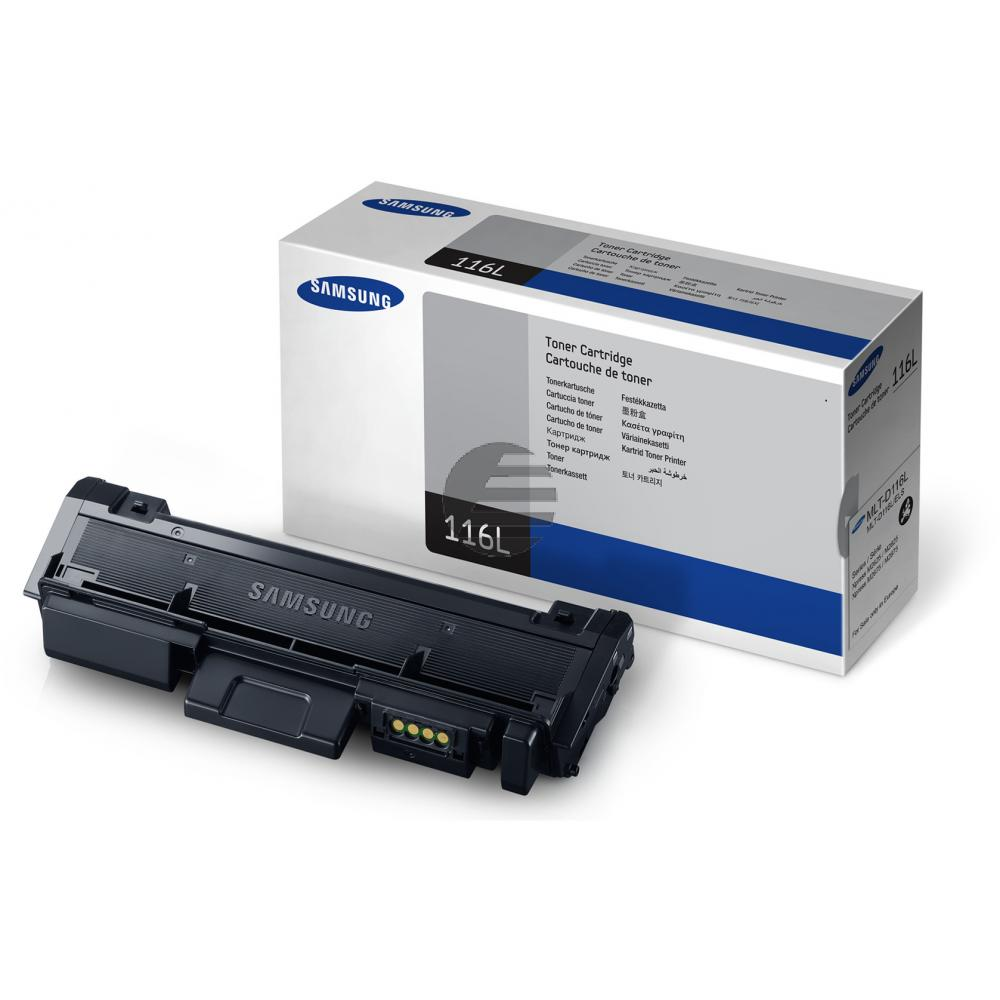 Samsung Toner-Kit schwarz HC (MLT-D116L, 116L)