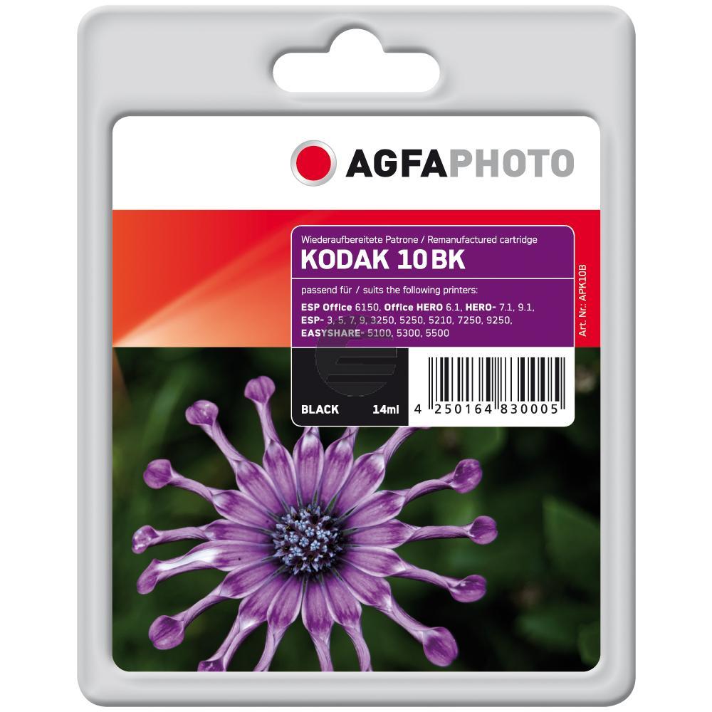 Agfaphoto Tintenpatrone schwarz (APK10B) ersetzt 3949914 / 10B