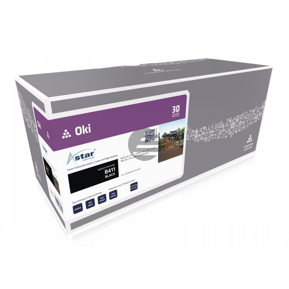 Astar Toner-Kit schwarz (AS10702) ersetzt 44574702
