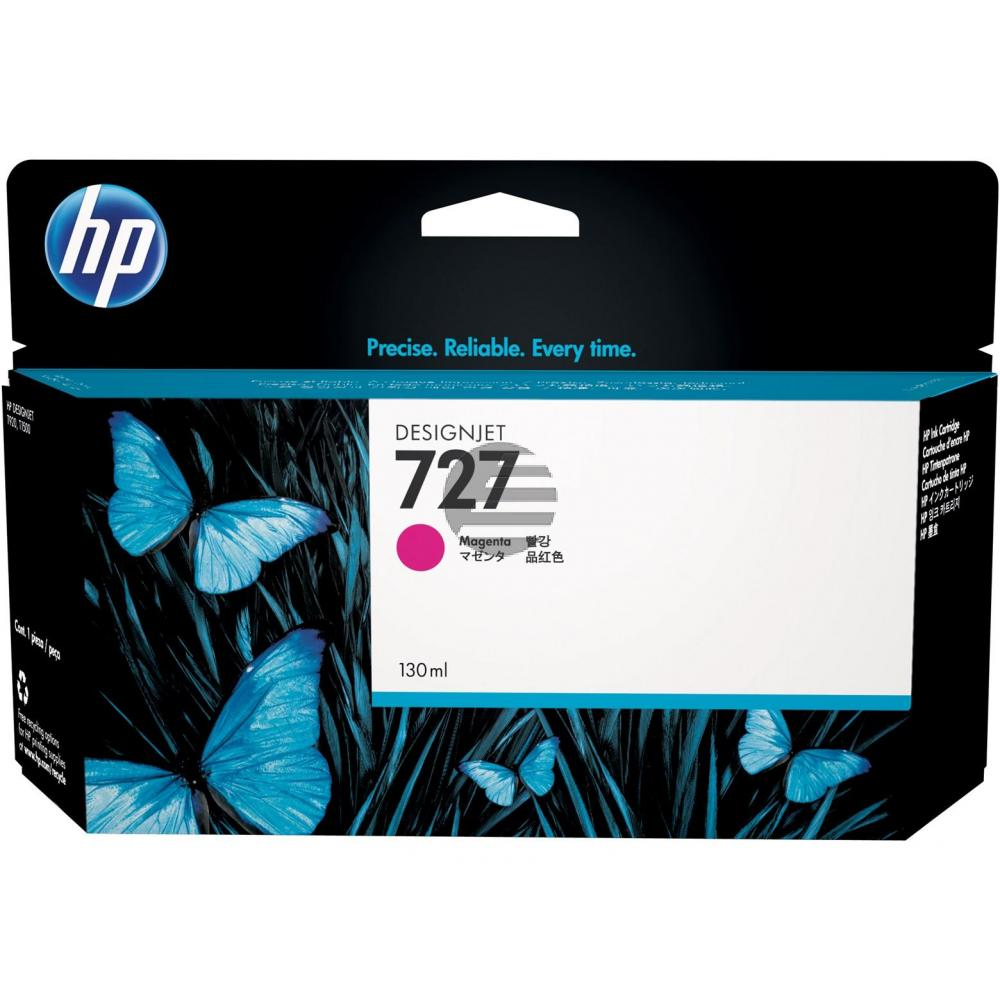 HP Tintenpatrone magenta HC (B3P20A, 727)