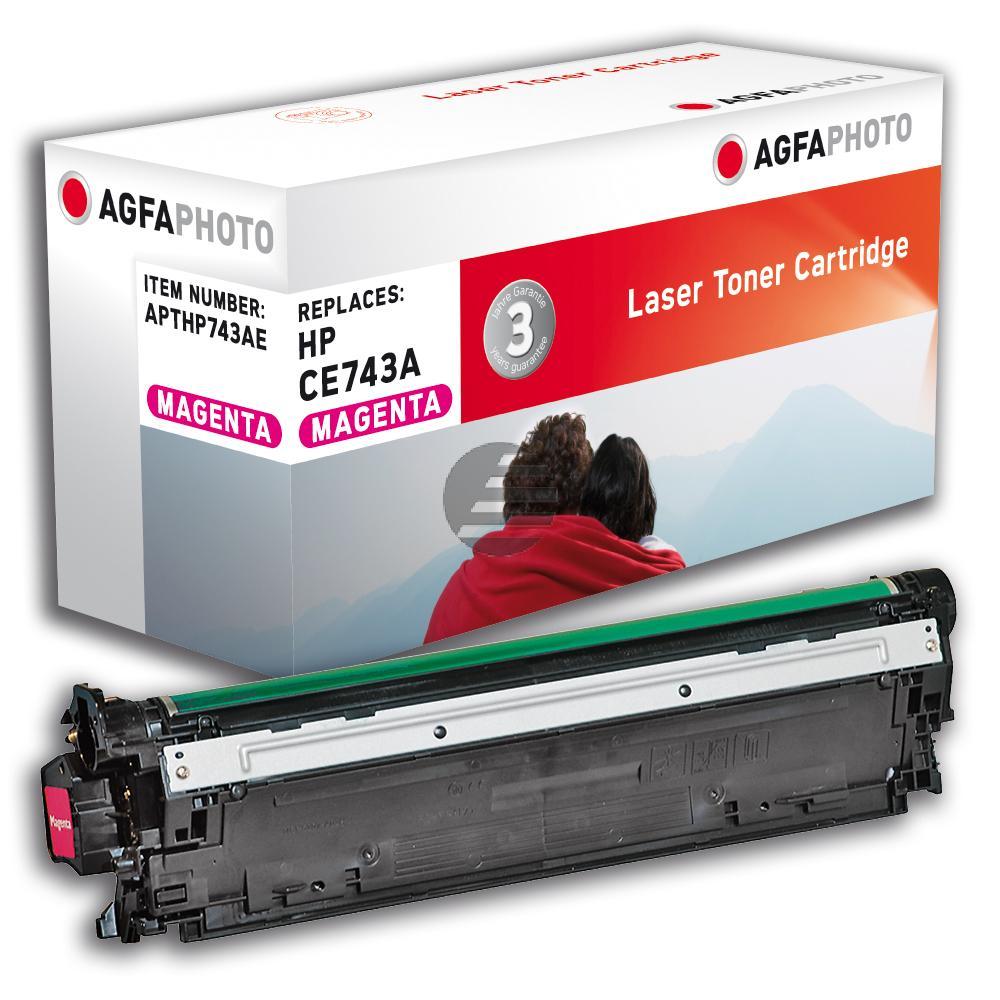 Agfaphoto Toner-Kartusche magenta (APTHP743AE)