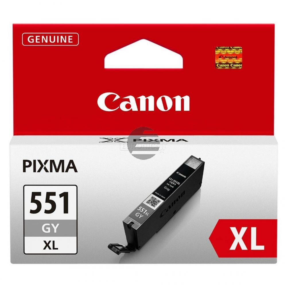 Canon Tintenpatrone grau (6447B004, CLI-551GYXL)