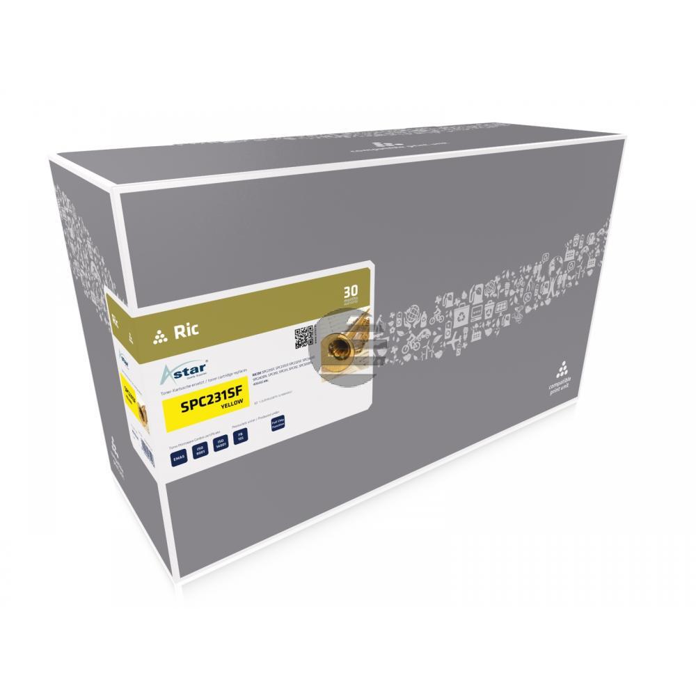 Astar Toner-Kartusche gelb HC (AS13231) ersetzt 406482 / TYP-SPC310HE