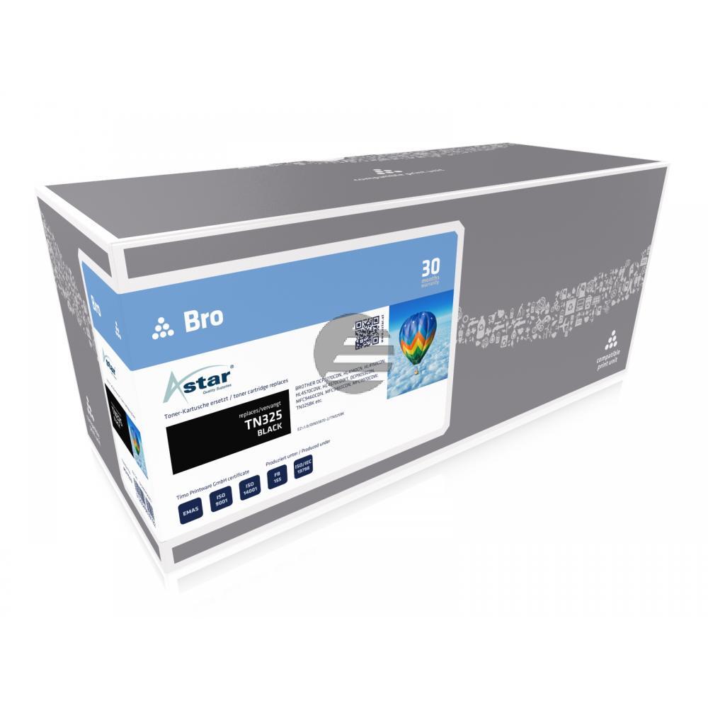 Astar Toner-Kit schwarz HC (AS11523) ersetzt TN-325BK