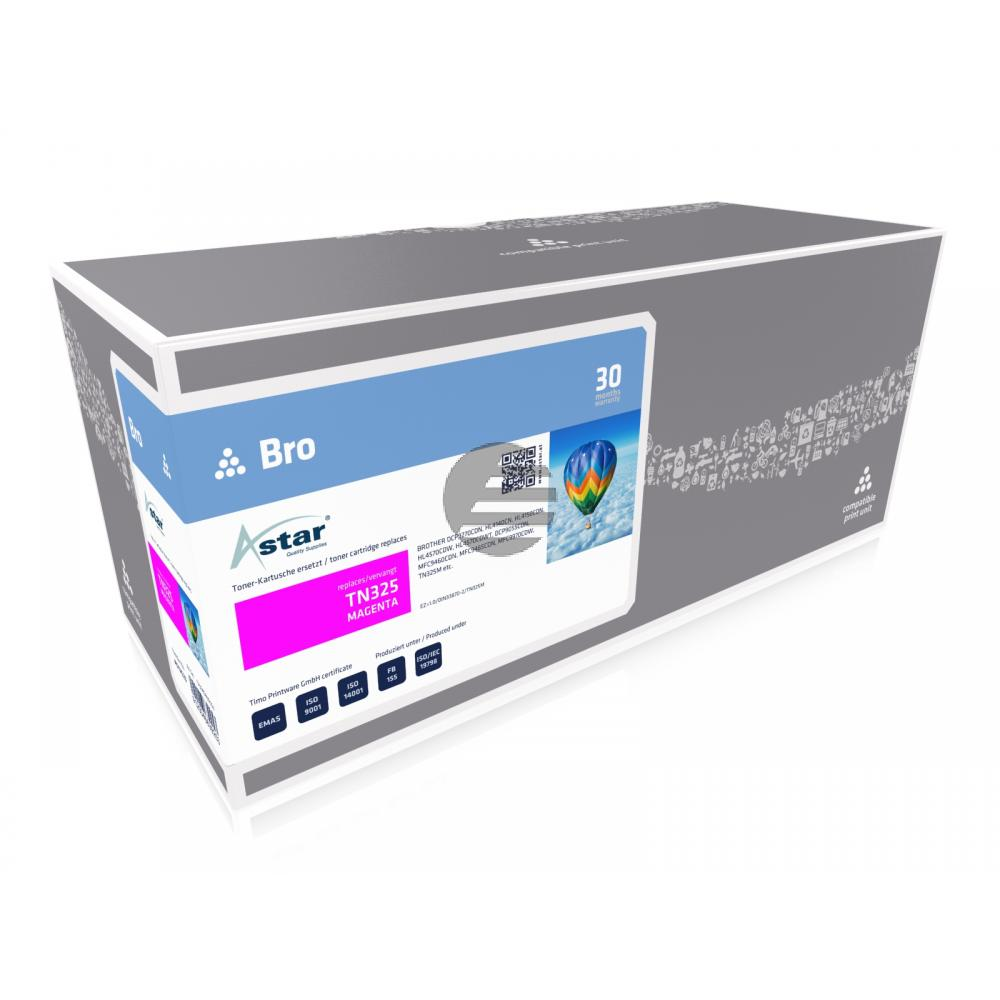 Astar Toner-Kit magenta HC (AS12523) ersetzt TN-325M