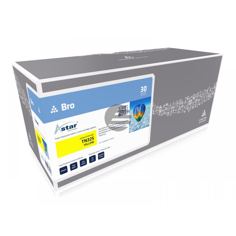 Astar Toner-Kit gelb HC (AS13523) ersetzt TN-325Y