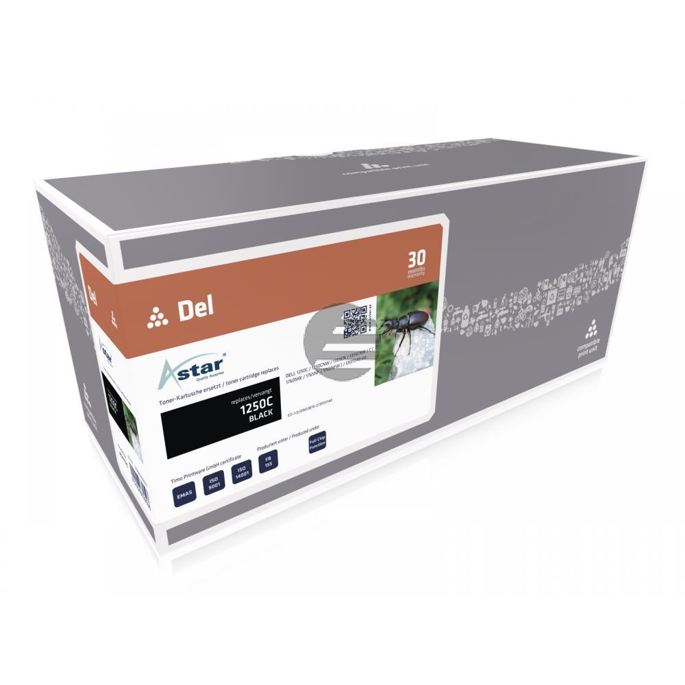 Astar Toner-Kartusche schwarz HC (AS11125) ersetzt 593-11016 / YJDVK